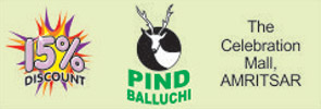 Pind Balluchi, The Celebration Mall, Amritsar